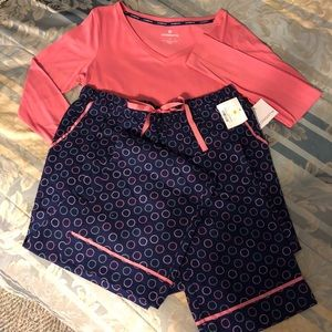 Liz Clairborne Two Piece Pajama Set
